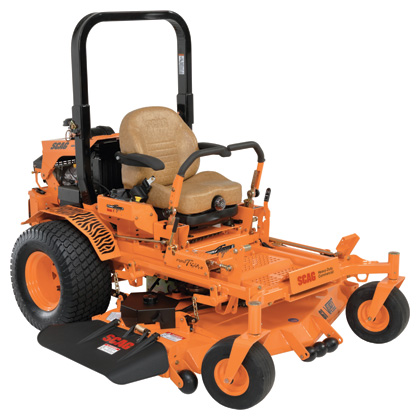 best seated lawn mower scag brand