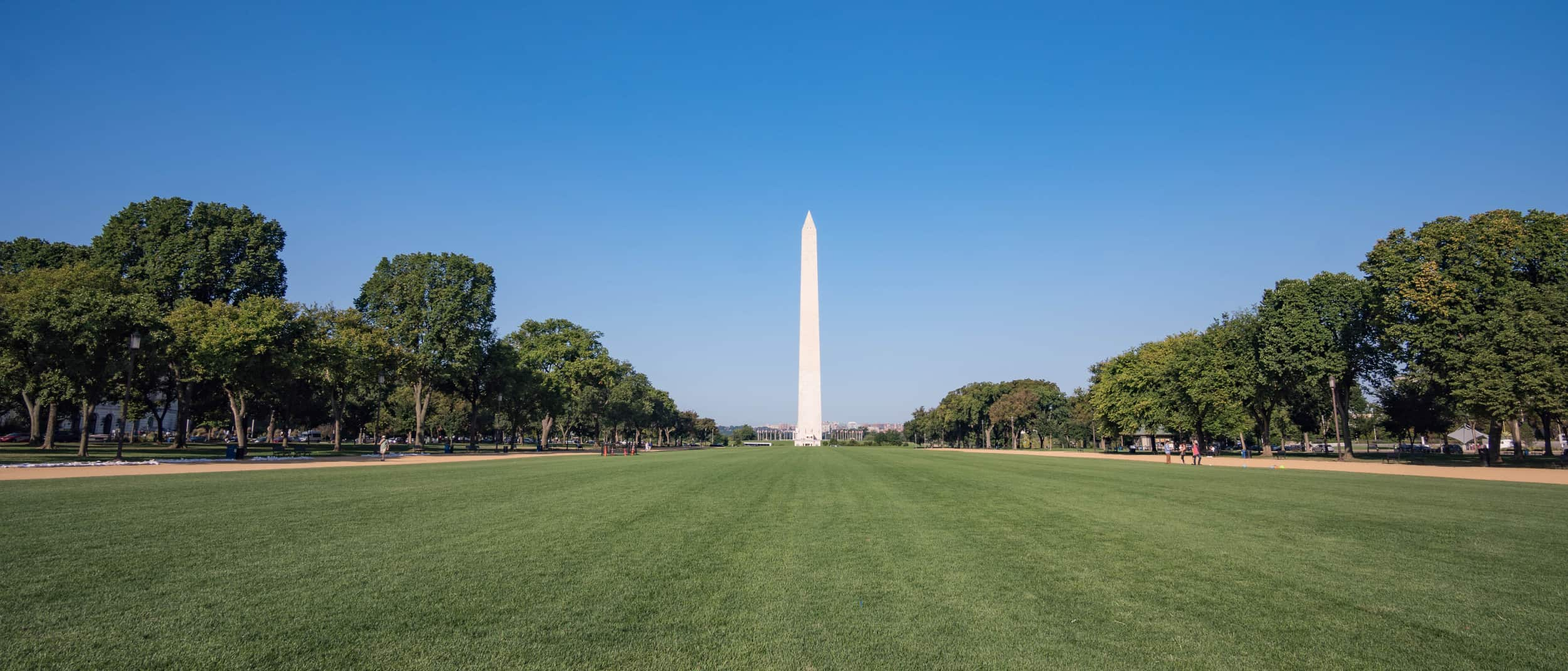 White obelisk
