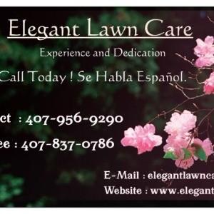 Elegant Lawn Care profile picture