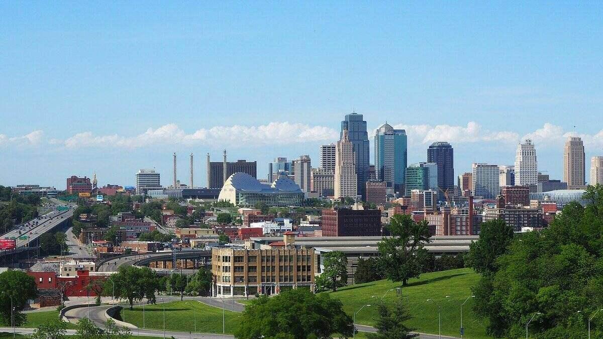 Skyline of Kansas City, MO