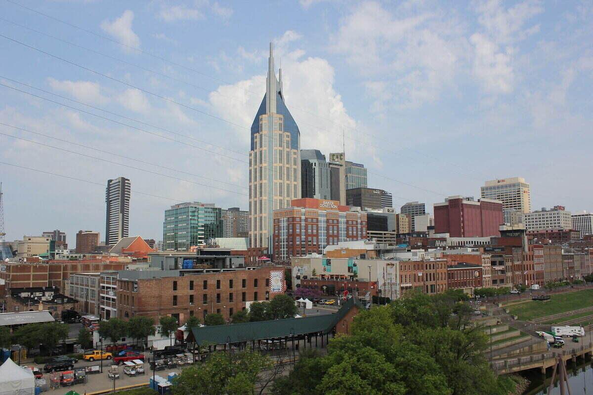 Skyline of Nashville, TN